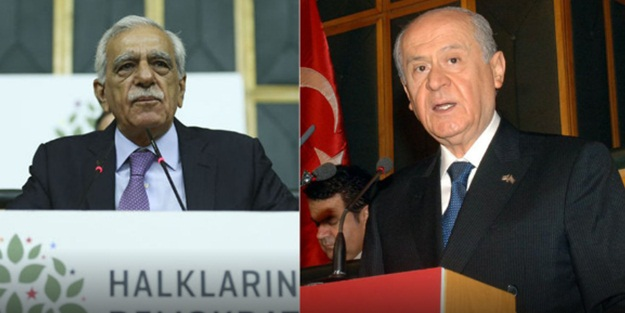Ahmet Türk, Bahçeli'yi aradı