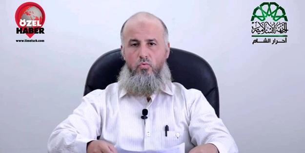 Ahrar'uş Şam lideri Ebu Cabir'den Idlib açıklaması!