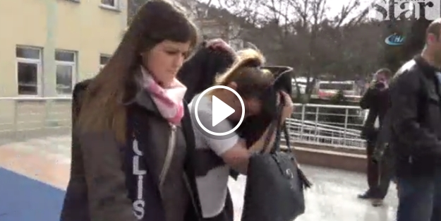 Ailesinin kayıp ilanı verdiği kız bakın ne halde yakalandı
