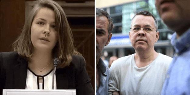 Ajan Brunson Türkiye'de hapiste, kızı ABD'de algı operasyonunda