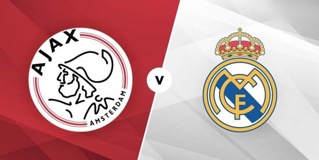 Ajax Real Madrid Şampiyonlar Ligi maçı saat kaçta hangi kanalda?