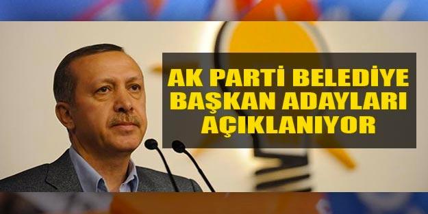 AK Parti belediye başkan adayları kimler oldu? AK Parti yerel seçim adayları