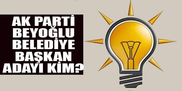 AK Parti Beyoğlu belediye başkan adayları 2019 kim oldu?