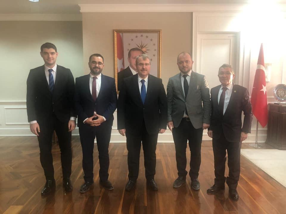 AK Parti Bilecik İl Başkanı Karabıyık'ın Ankara temasları