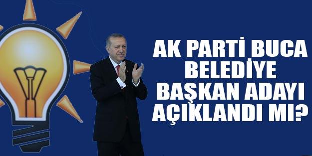AK Parti Buca belediye başkan adayı 2019 yerel seçim