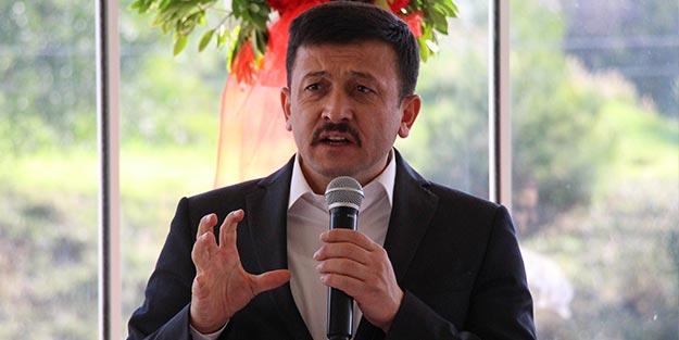 AK Parti Genel Başkan Yardımcısı Hamza Dağ'dan tepki! Çirkinleştiniz!