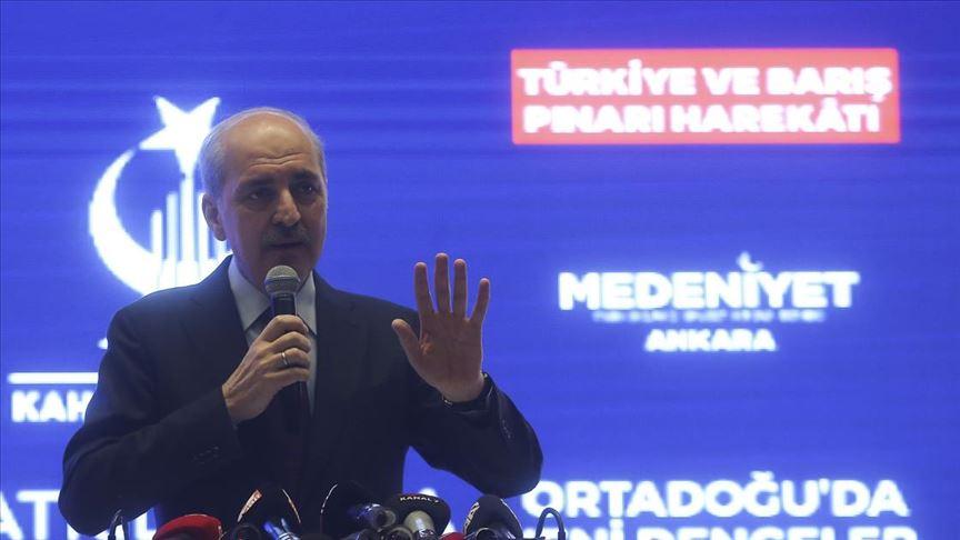 AK Parti Genel Başkanvekili Kurtulmuş: Türkiye ikinci Sykes-Picot'u parçalamış, kenara atmıştır