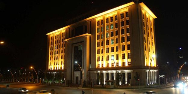 """AK Parti binası """"yeşil bina"""" olacak"""