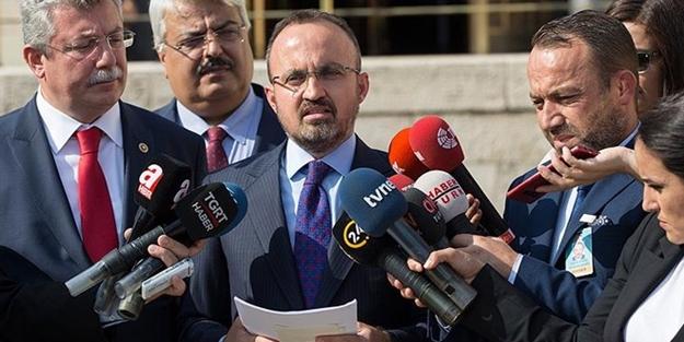 AK Parti Grup Başkanvekili Bülent Turan, düzenlemeyi Akit'e değerlendirdi! Vesayet baroları gidecek milletin baroları gelecek