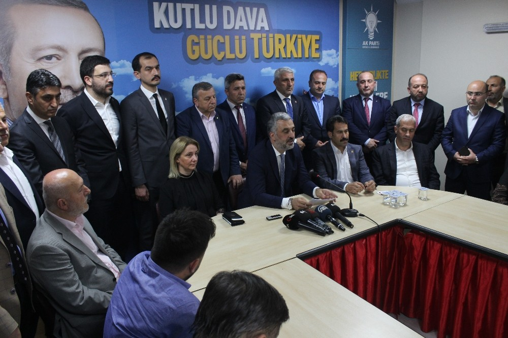 AK Parti İl Başkanı Abdullah Eryarsoy istifa etti