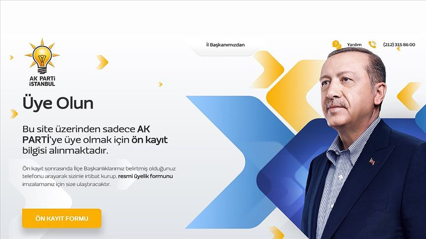 AK Parti İstanbul İl Başkanlığından '100 bin yeni üye' kampanyası