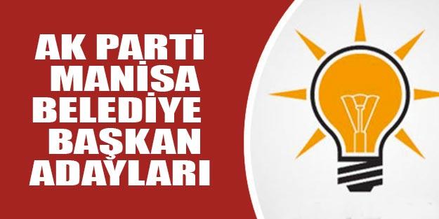 AK Parti Manisa belediye başkan adayları 2019 kim?