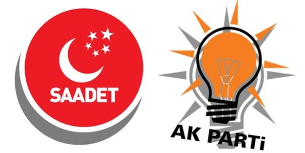 'AK Parti - Saadet ittifakı hayırlı olsun'