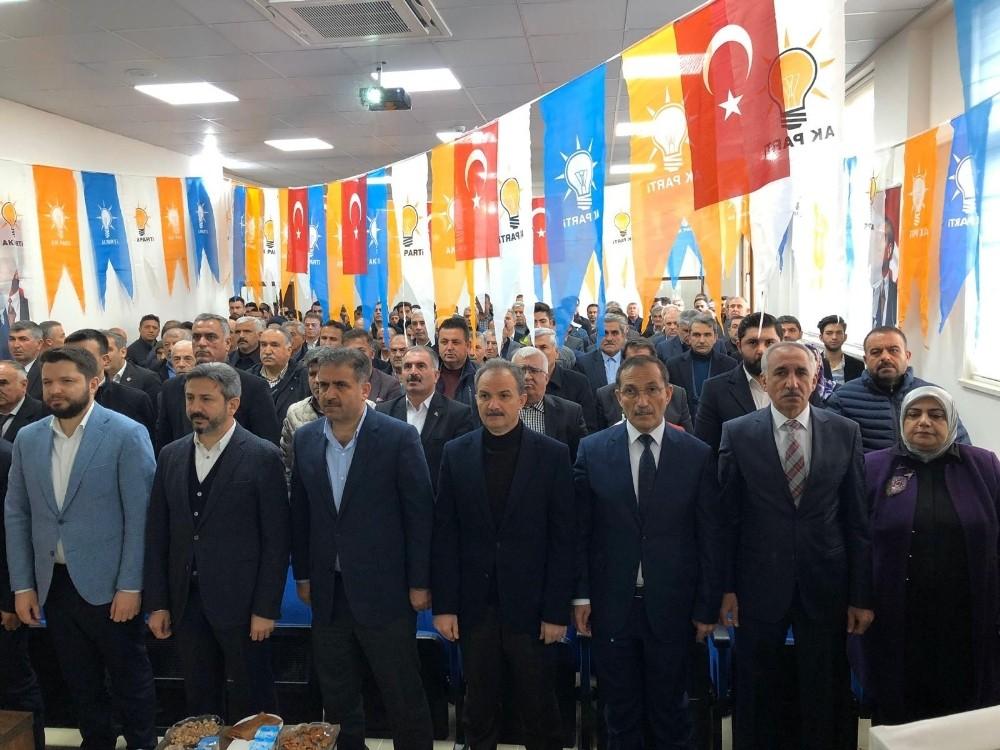AK Parti Samsat ilçe Başkanlığı kongresi yapıldı