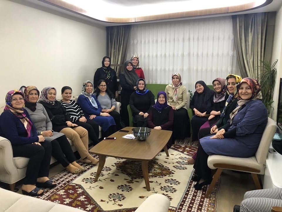 AK Parti Simav İlçe Kadın Kolları Başkanlığı'ndan istişare toplantısı