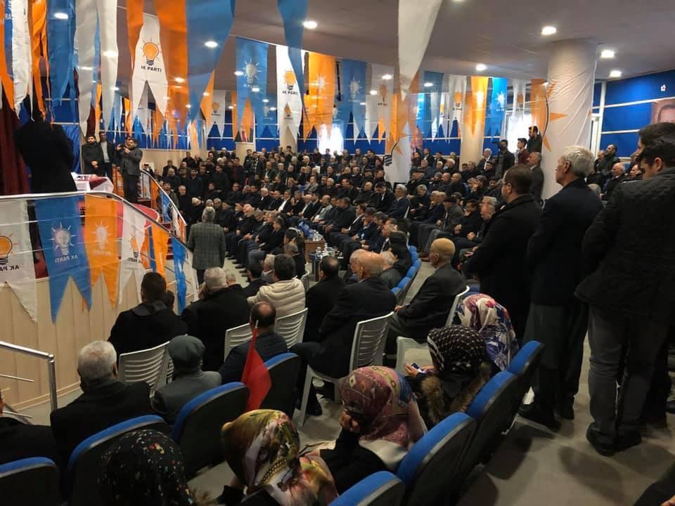 AK Parti Sincik ilçe Başkanlığı kongresi tamamlandı