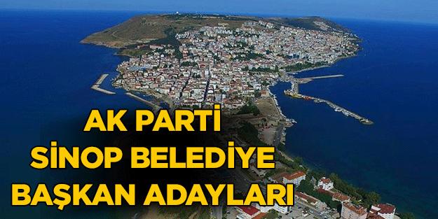 AK Parti Sinop ilçe belediye başkan adayları 2019 yerel seçim