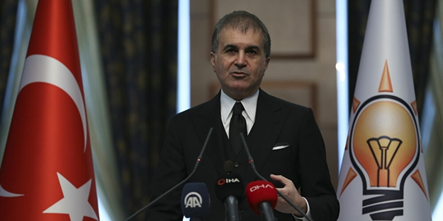 AK Parti Sözcüsü Ömer Çelik: Hastalıklı bir zihniyet var
