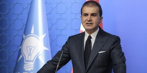 AK Parti Sözcüsü Ömer Çelik'ten ABD'ye terör tepkisi