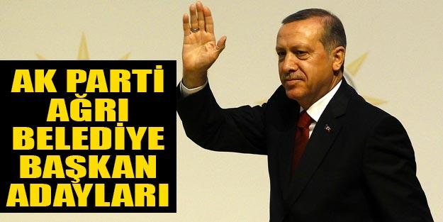 AK Parti Ağrı belediye başkan adayları kimler 2019?