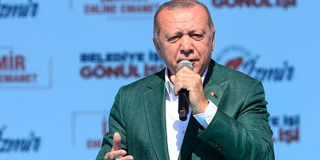Cumhurbaşkanı Erdoğan: Kimin kimi desteklediği belli olmayan bir ittifaktan hayır gelir mi?