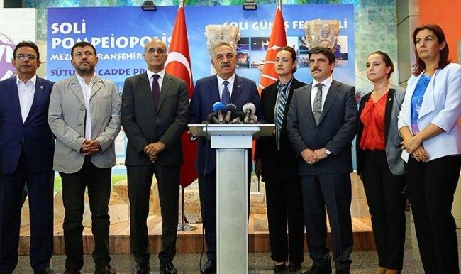 AK Parti'den CHP'ye anlamlı ziyarette bulundu