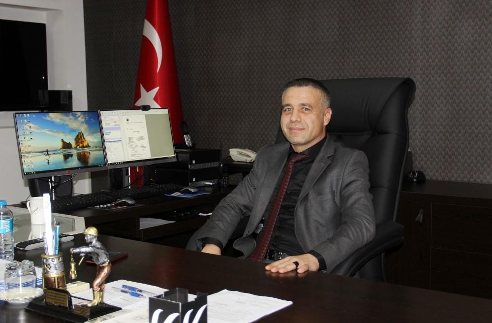 AK Parti'den emniyet müdürüne hayırlı olsun ziyareti