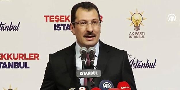 """AK Parti'den flaş seçim sonucu açıklaması! """"Tarihimizin en büyük şaibelerinden biridir"""""""