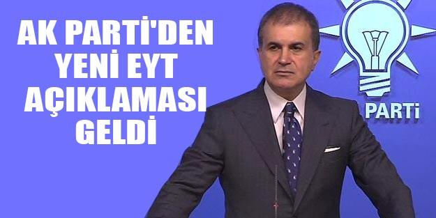 AK Parti'den son dakika yeni EYT açıklaması EYT çıkacak mı?
