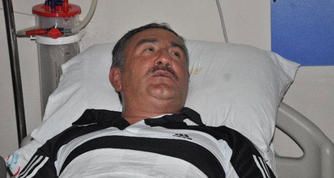 AK Partili başkan yaralandı