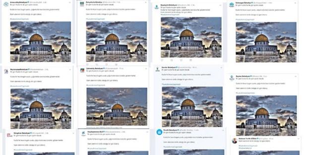 AK Partili belediyelerden ortak Kudüs tepkisi