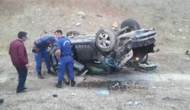AK Partili Belediye Başkanı trafik kazası geçirdi!