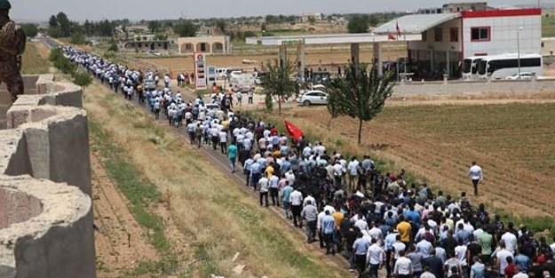 AK Partili Halil Yıldız'ın kardeşi için tören düzenlendi