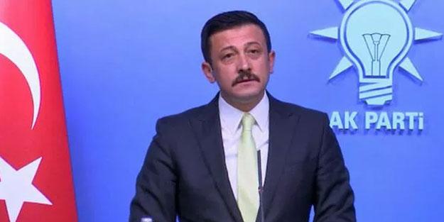 AK Partili Hamza Dağ koronavirüse yakalandı