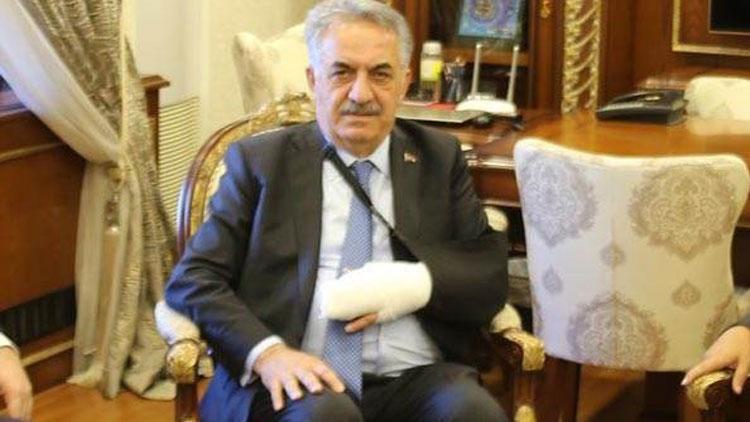 AK Partili Hayati Yazıcı trafik kazası geçirdi! Parmağı çıktı