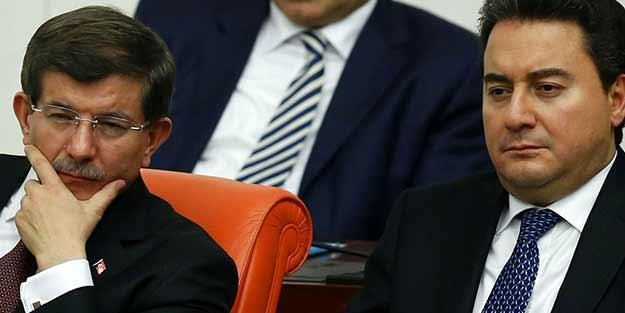 AK Partili isimden Davutoğlu ve Babacan'a flaş çıkış: Kuracaksanız kurun kendi partinizi