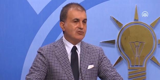 AK Partili Ömer Çelik'ten, Danıştay kararına tepki!