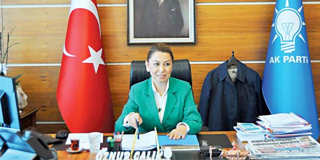 AK Partili Öznur Çalık: Biz milletin iktidar olmasını istiyoruz