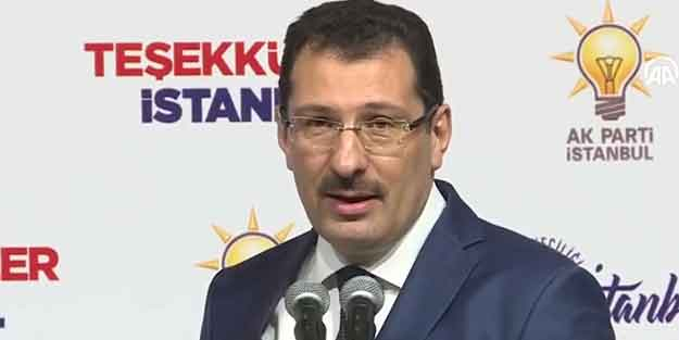 İstanbul'da makas daralıyor! AK Parti son oy farkını açıkladı