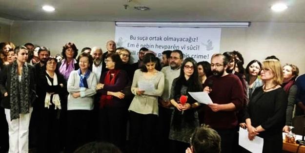 Akademisyenler PKK'nın azmettiricisi