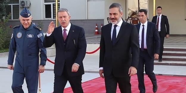 Akar, Fidan ve Güler sınır hattında toplandı!