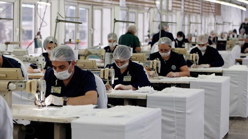 Akar talimat verdi, Bakanlığa bağlı fabrikalarda maske üretimi arttı