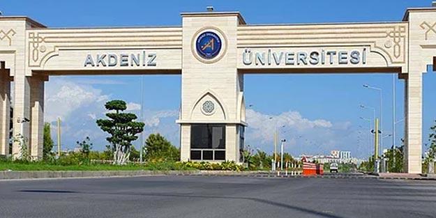 Akdeniz Üniversitesi sıralama 2019