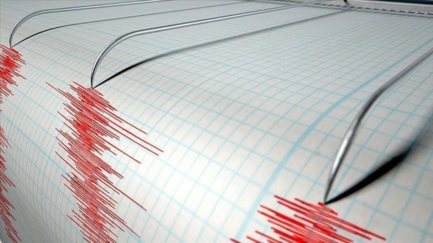 Akdeniz'de deprem meydana geldi