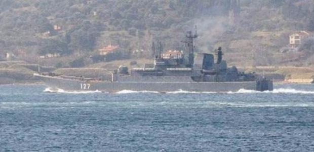 Akdeniz'de 2 Rus savaş gemisi...