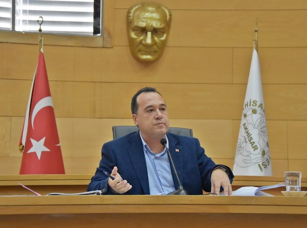 Akhisar Belediye Meclisi gündemindeki maddeleri görüştü