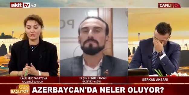 Akit TV spikeri kendini tutamadı, canlı yayında Azerbaycan için ağladılar