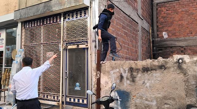 Aksaray'da şüpheli kovalamacası film sahnelerini aratmadı