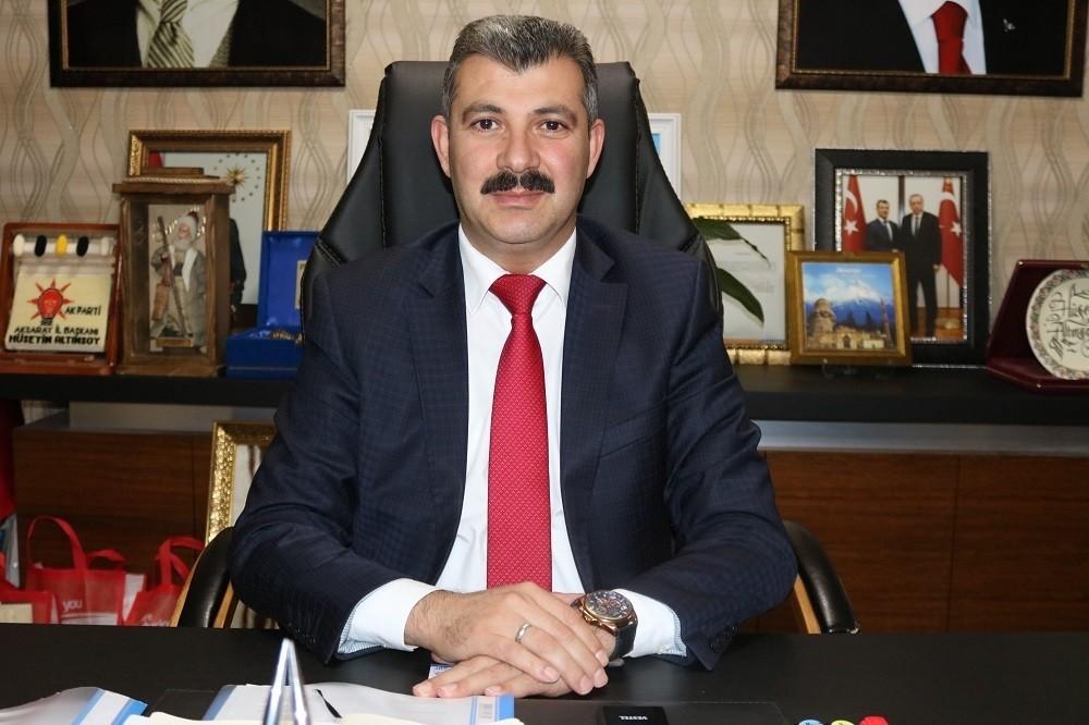 Aksaray'dan güçlü Türkiye'ye güçlü destek