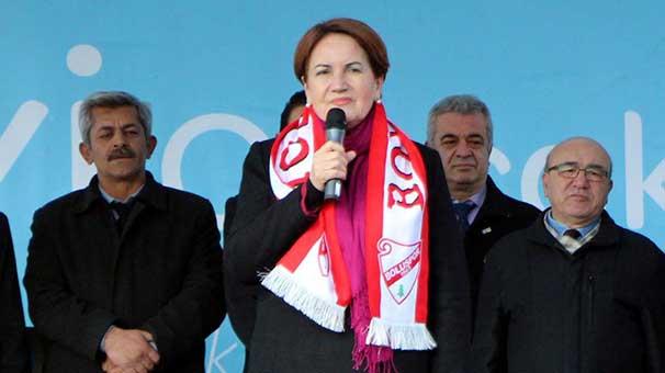 Akşener: Zeytin Dalı harekâtını sonuna kadar destekliyoruz